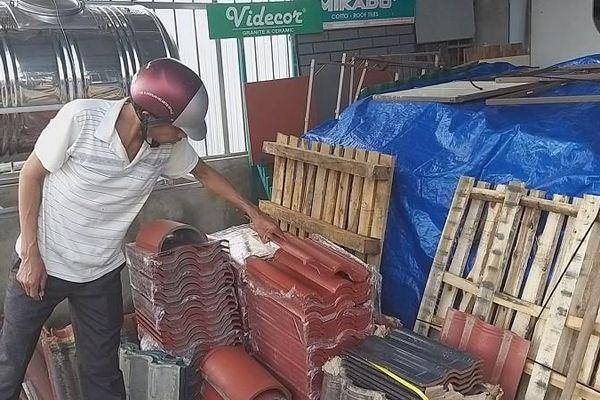 Sau bão số 9, Quảng Ngãi 'cháy hàng' vật liệu xây dựng