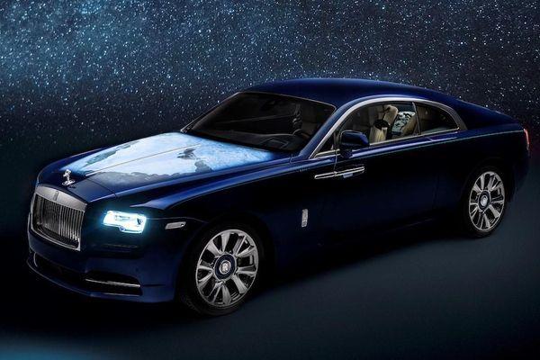 Rolls-Royce Wraith phiên bản Trái Đất được ra mắt