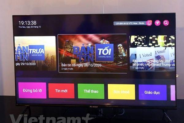 VTC ra mắt dòng TV thông minh đầu tiên mang tên VTC Now Rindo