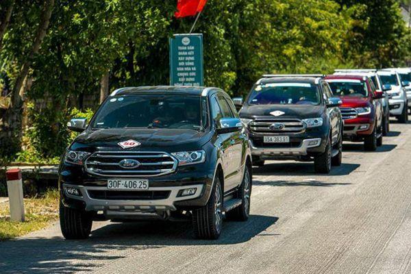 Doanh số các mẫu xe Ford tại Việt Nam tăng trưởng ấn tượng