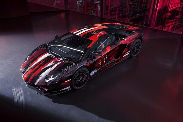 Lamborghini Aventador S độ lấy cảm hứng từ thời trang, chỉ có 1 chiếc duy nhất
