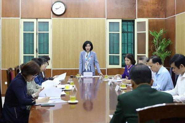 Thường trực HĐND thành phố Hà Nội tiếp công dân theo vụ việc