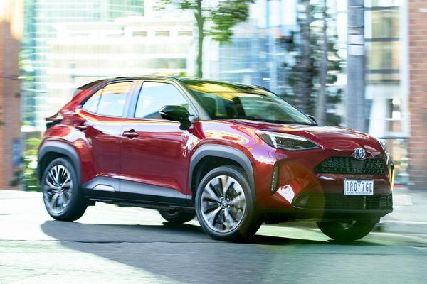 Toyota Yaris Cross 2021 có giá từ 19.200 USD tại Australia