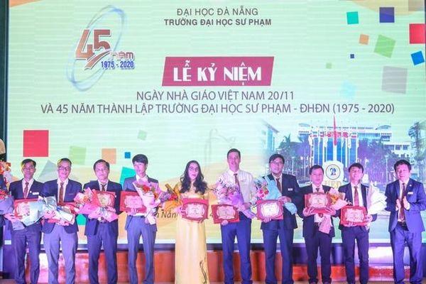 Trường ĐH Sư phạm (ĐH Đà Nẵng) kỷ niệm 45 năm thành lập trường