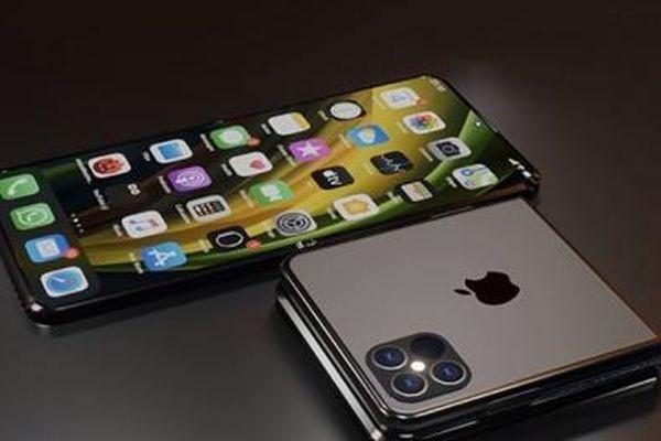 Rò rỉ thiết kế iPhone màn hình gập giống Galaxy Z Flip