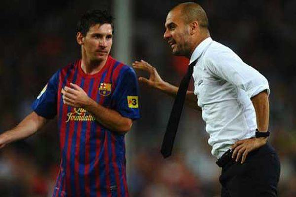 Man City giữ chân Guardiola để chèo kéo Messi