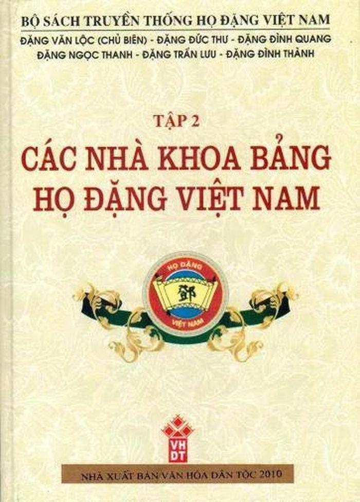 Các nhà khoa bảng họ Đặng Việt Nam 2_33705