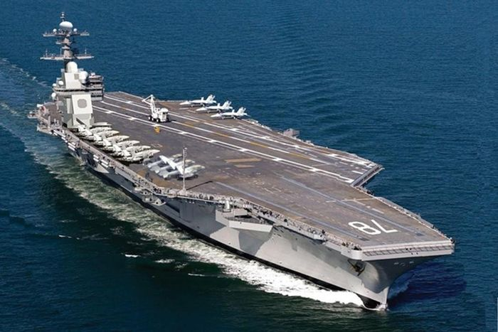 5 largest aircraft carriers in the world