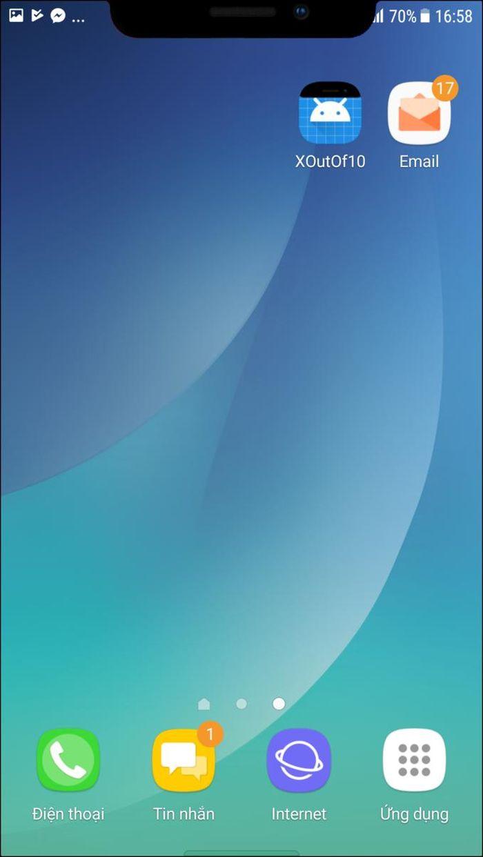 Hướng dẫn cách giả giao diện iPhone X trên Android - Báo Infonet