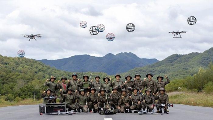 Hàn Quốc lập tiểu đoàn chiến đấu drone ảnh 1