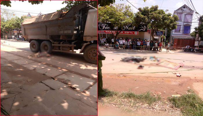 Báo VTC: Đi bốc thuốc nam, 2 vợ chồng chết thảm dưới bánh xe tải