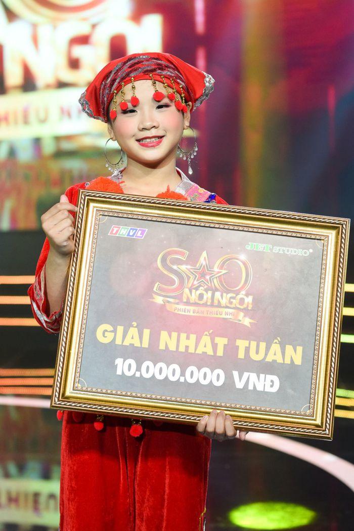 Image result for Tô Anh Thư xuất sắc giành giải nhất tuần với lễ hội cầu mùa