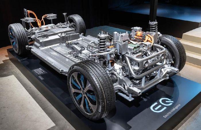 mercedes Benz lựa chọn Thái Lan là thị trường để phát triển xe điện