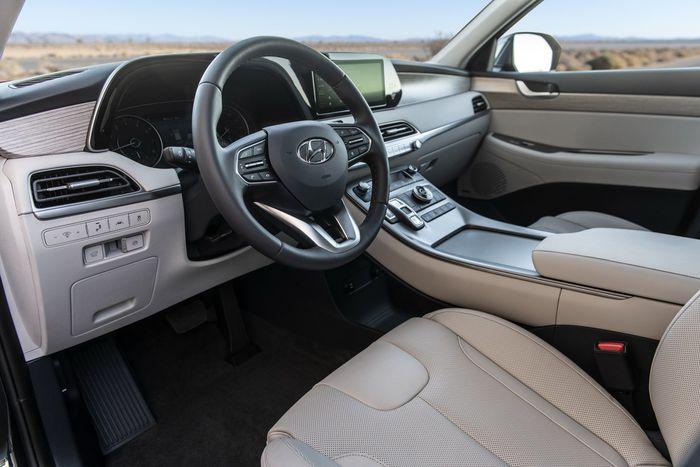 Lộ diện xe 8 chỗ đồ sộ Hyundai Palisade đấu Ford Explorer