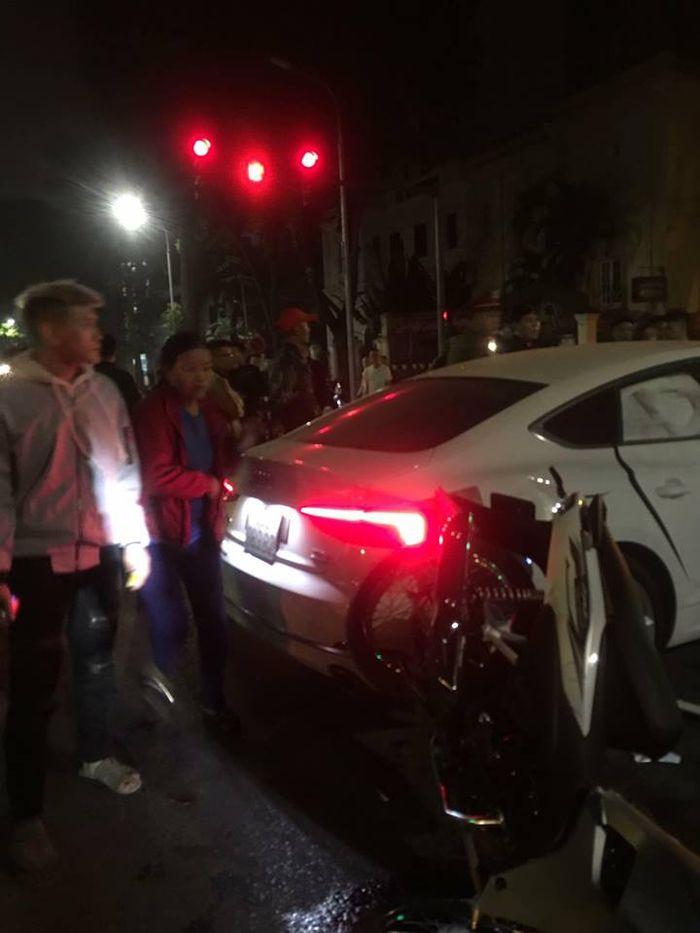Tai nạn kinh hoàng giữa Ôtô và xe máy khiến cô gái trẻ tử vong và 3 người bị thương nặng