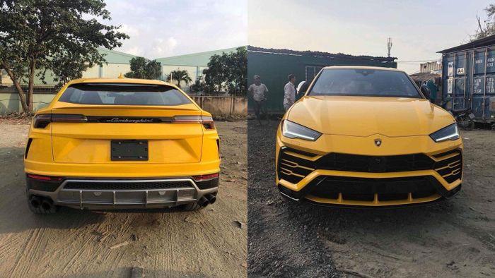 Sieu Suv Lamborghini Urus Thứ 3 Về Việt Nam Với Mau Vang đặc Trưng