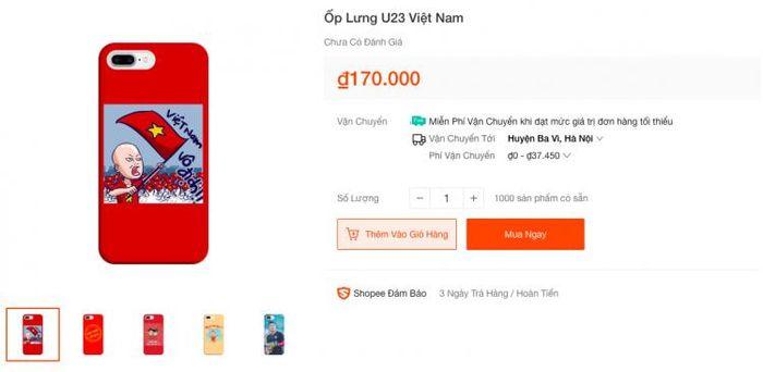 Ốp lưng smartphone in hình cổ vũ đội tuyển Việt Nam đắt khách mùa AFF Cup 2018