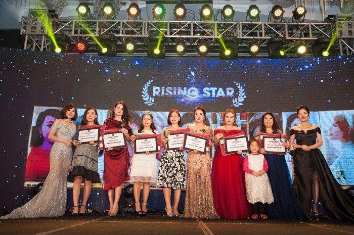 Rising Star Nguyễn Thị Ngọc Hạnh – Phạm Thị Nhị - Phan Vân Anh – Phạm Thị Luyến – Tân Nhật – Vương Kim Tiền – Tống Thị Thu Hương.