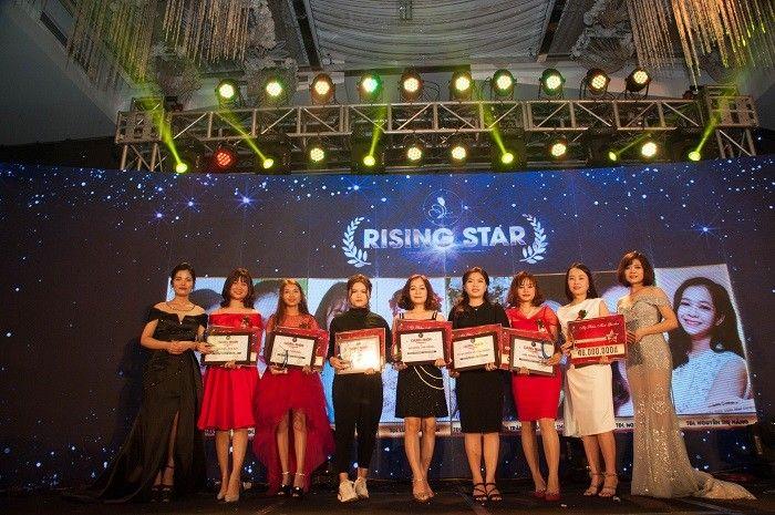 Rising Star Hoàng Thị Hải – Elly Phương – Ngô Thị Kim Dung – Nguyễn Hằng – Nguyễn Huyền Trâm – Lưu Trang Hiền – Dương Thu Phương.