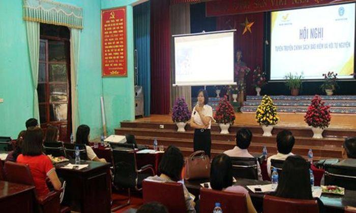 Báo Đại Đoàn Kết: Bắc Giang: Đẩy mạnh phát triển bảo hiểm xã hội tự nguyện
