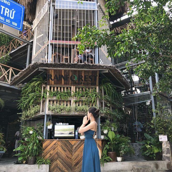 những quán cafe đẹp ở nha trang-Rainforest