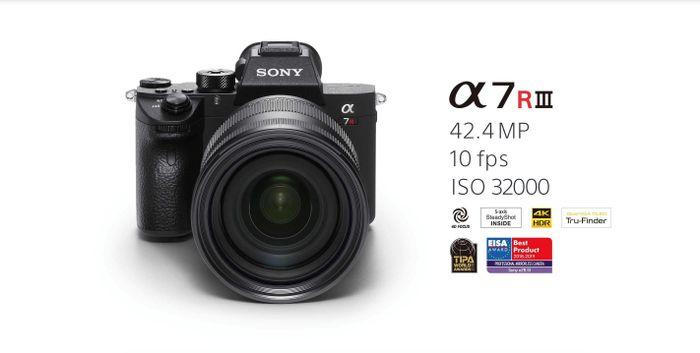 Cập nhật firmware 3 0 cho Sony A7R iii v&