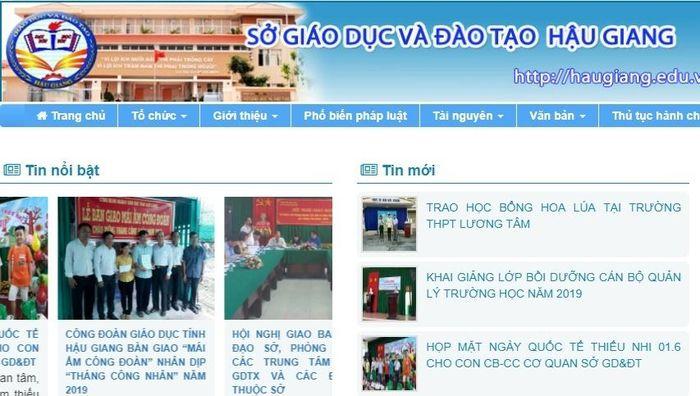 Báo Thời Đại: Điểm chuẩn lớp 10 tỉnh Hậu Giang năm 2019