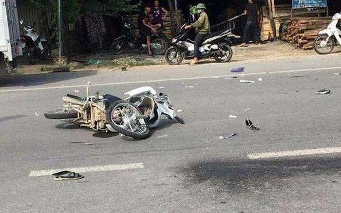 Báo Đời Sống Plus: Bắc Giang: Va chạm với xe ô tô, người lái xe máy t.ử v.ong