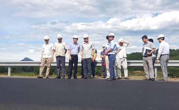 Báo Một Thế Giới: Kiểm tra việc khắc phục vết hằn lún đường cao tốc Đà Nẵng-Quảng Ngãi