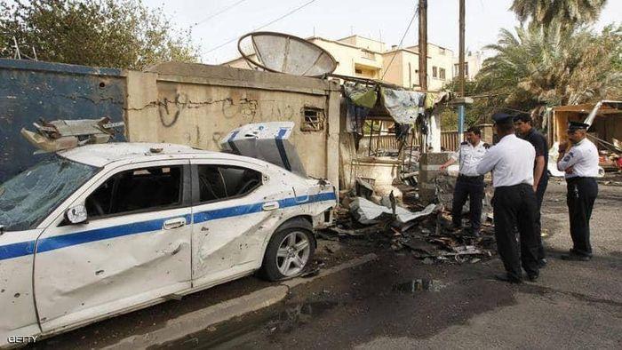 Hang loat vu danh bom dam mau xay ra o Iraq