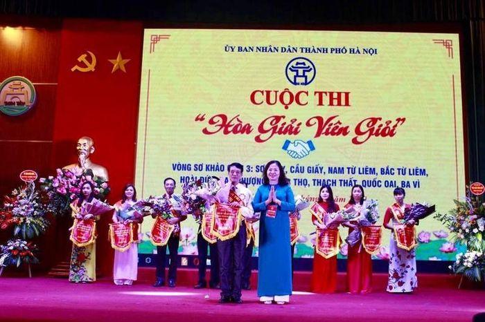 6 đội vào chung khảo cuộc thi Hòa giải viên giỏi thành phố Hà Nội