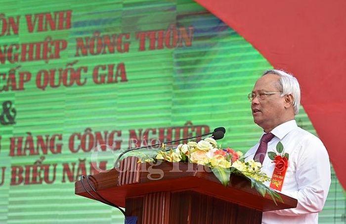 Phó Chủ tịch Quốc hội Uông Chu Lưu phát biểu