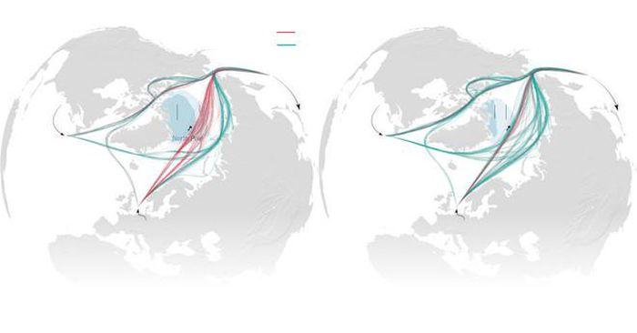 Mỹ - Trung chạy đua trong 'Trò chơi vương quyền Bắc Cực'