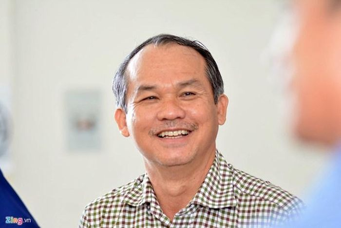 Bầu Đức liên tục đóng góp cho bóng đá Việt Nam nhiều năm qua. Ảnh: Quang Thịnh.