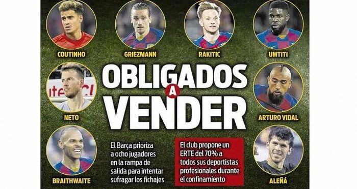 Barcelona thanh lý hàng loạt cầu thủ do ảnh hưởng của Covid-19