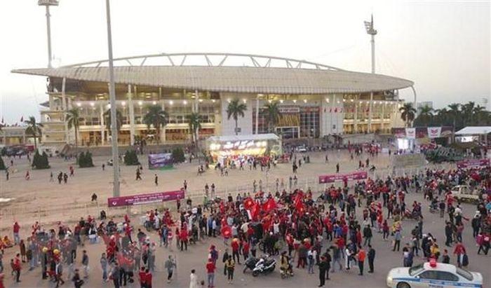 Sân vận động Mỹ Đình lọt vào tốp 5 sân tốt nhất của Đông Nam Á
