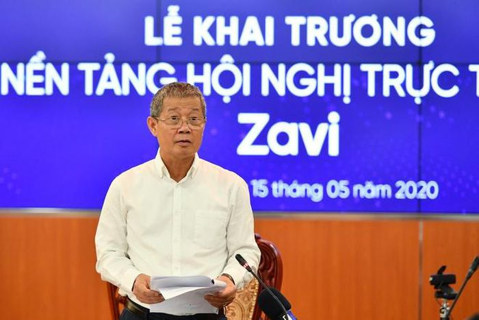 Ra mắt nền tảng họp trực tuyến 'Make in Việt Nam'