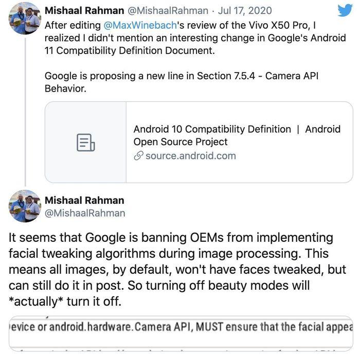 'Hội chị em' có thể sẽ không còn được 'chỉnh da, bóp mặt' trên điện thoại Android 3