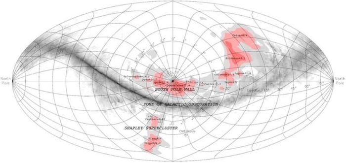 Phát hiện cấu trúc dài 1,4 tỷ năm ánh sáng - ảnh 2