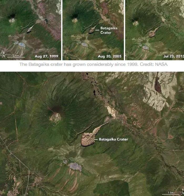 'Cổng địa ngục' Siberia mở rộng và lời cảnh báo đối với nhân loại - ảnh 2.