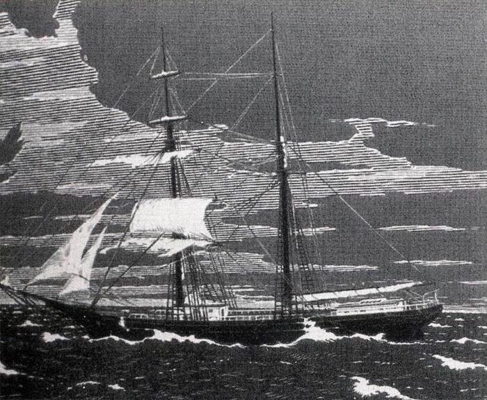 Bí ẩn vụ người 'bốc hơi' trên 'con tàu ma' năm 1872 - ảnh 2.