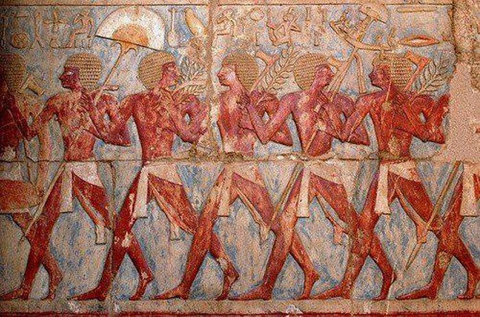 Người Punt cung cấp hương liệu, gỗ mun và vàng cho Ai Cập cổ. (Ảnh: Harmakis).