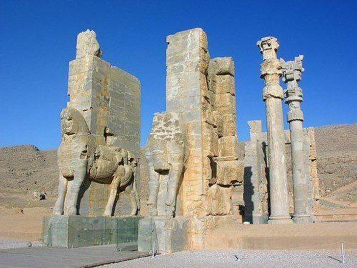Di tích còn lại của vương quốc Elam cổ xưa. (Ảnh: Amazingbibletimeline.)