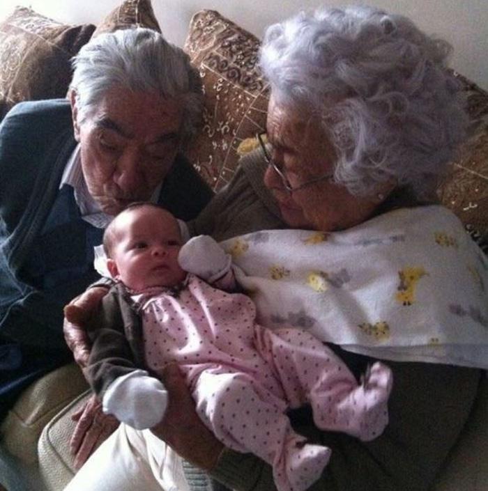 Vợ chồng lập kỷ lục tổng 215 tuổi tại Ecuador