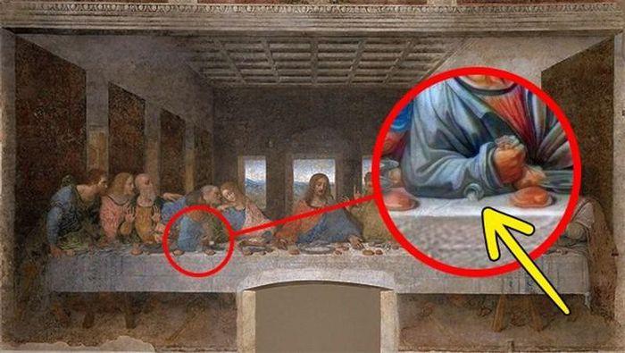 5 bí ẩn trong những bức họa nổi tiếng của đại thiên tài Leonardo da Vinci - ảnh 5.
