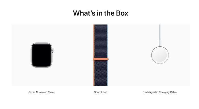 Apple Watch không được tặng kèm củ sạc nữa, mua ngoài 19 USD