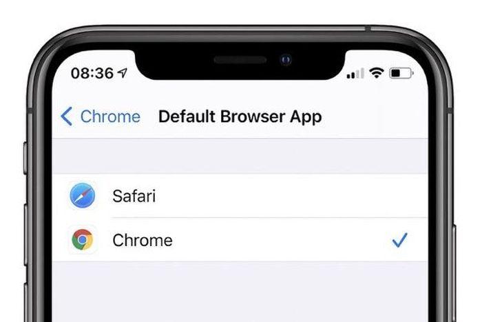 Cách đặt Google Chrome làm trình duyệt mặc định trên iPhone và iPad