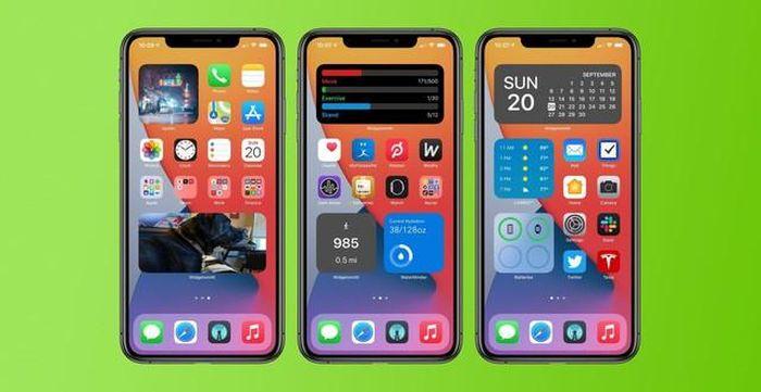Tính năng Widget tự chế màn hình 'gỡ điểm' cho iOS 14 sau loạt lỗi lớn
