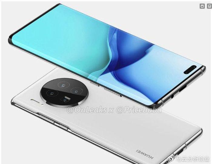 Huawei Mate 40 Pro lộ ảnh thực tế