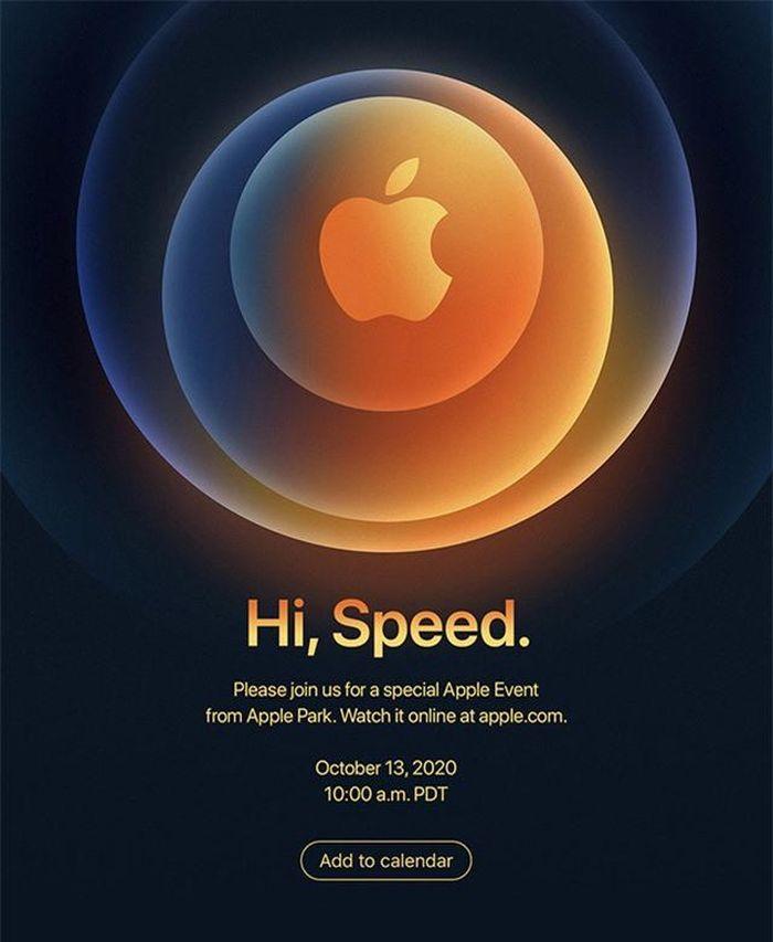 Apple thông báo ngày ra mắt iPhone 12